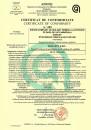 Certificat de conformitate sistem termoizolant Duraziv cu vată minerală